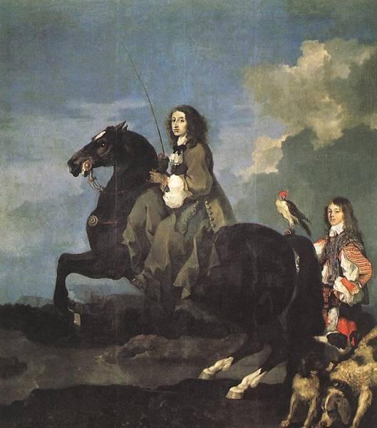 Queen Christina Of SwedenOn Horseback
